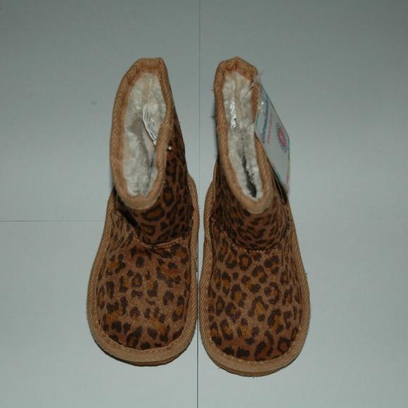66321844274 Garanimals infant girls size 5 leopard boots